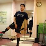 多くの筋肉に力を入れて伸ばす動作は脂肪燃焼と共に筋肉は引き締まる  第 1,760 号